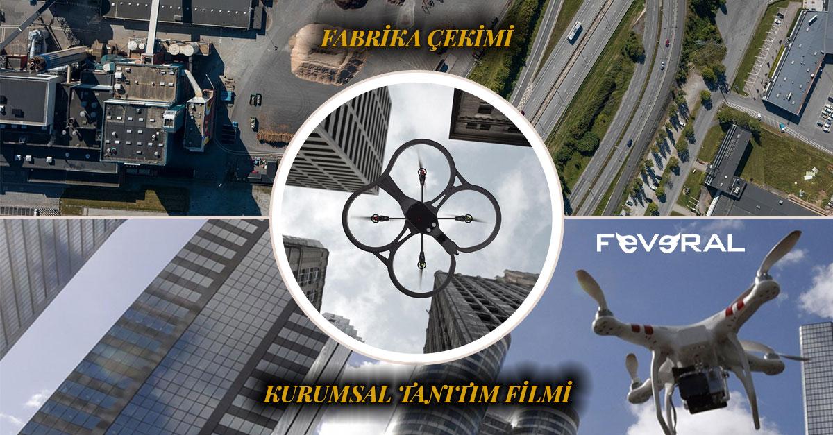 Drone Fabrika Çekimi