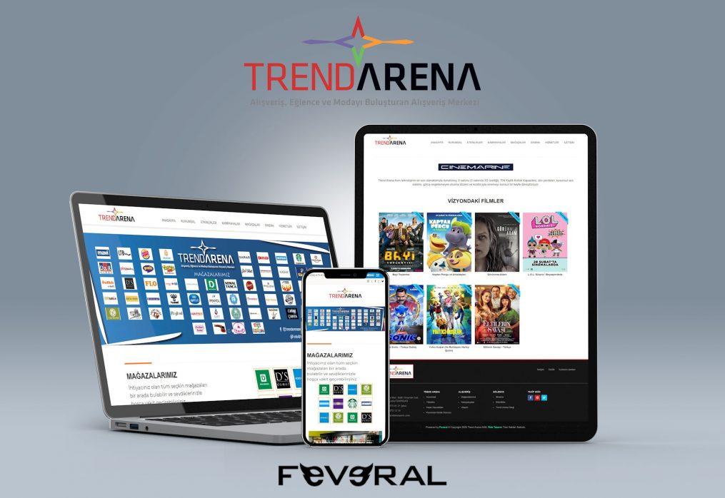 Web Tasarım Çorlu | Trend Arena AVM